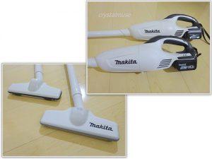 マキタの掃除機は使いやすい